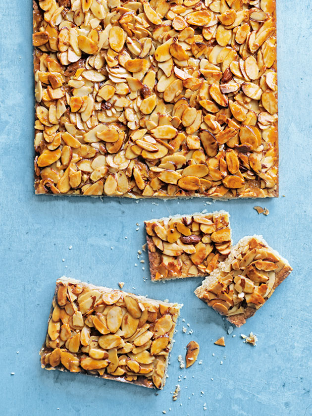 SWEET TREAT HONEY ALMOND SLICE