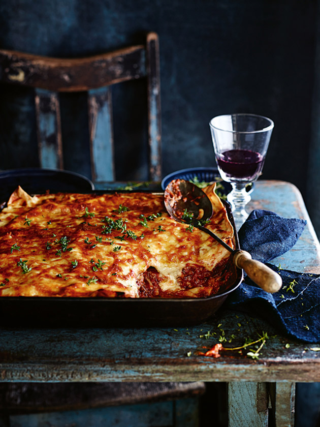 WORTH WAITING FOR SLOW-COOKED PORK LASAGNE