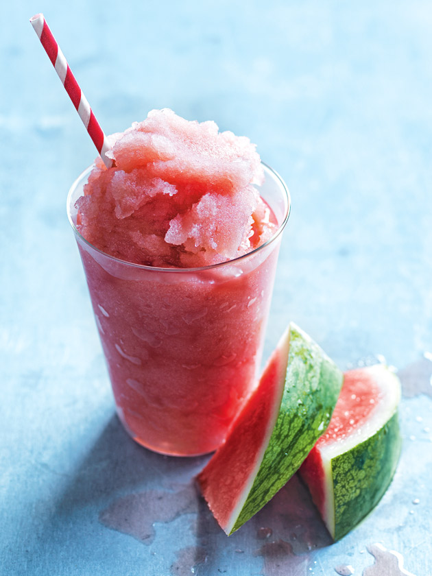 Watermelon and vanilla frose