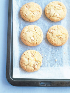 Coconut And White Chocolate Chip Cookies Donna Hay