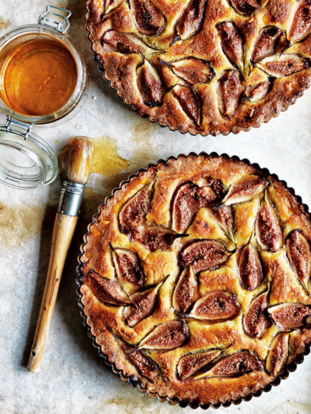 Image result for almond and honey fig tart