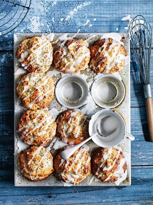 Lemon chia and ricotta muffins donna hay lemon chia and ricotta muffins ccuart Images