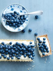 blueberry and lemon mascarpone tart
