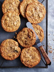 choc-chip hazelnut cookies