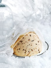 frozen vanilla christmas pudding