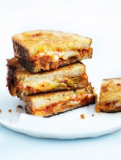 cheese and kimchi toasties