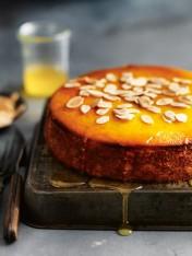 mandarin and polenta syrup cake