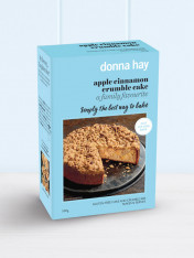 baking mix - apple cinnamon crumble cake