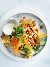 chilli chicken nachos