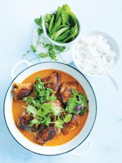 baked red chicken curry