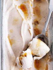 banana cinnamon ice-cream