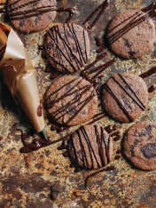 cacao fudge cookies