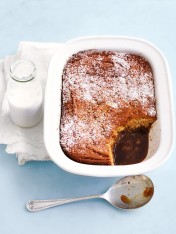 self-saucing caramel pudding