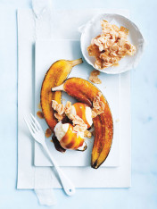 caramelised banana split