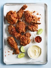 spiced buttermilk fried chicken