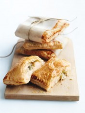 cauliflower, sage and cheese pasties