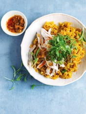 cheat's onion and chicken biriyani