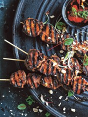 chinese pork skewers
