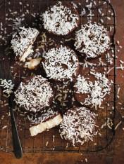 choc-coconut bites