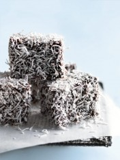 choc-filled lamingtons