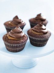 chocolate and salted caramel cupcakes