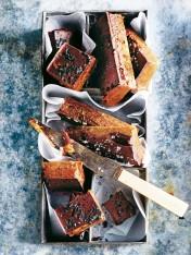 chocolate and peanut butter date fudge