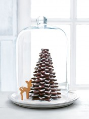 chocolate cookie christmas tree