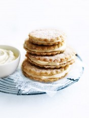 coconut lime cookie sandwiches