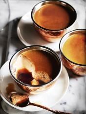 coffee crème caramels