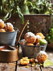 corn and feta croquettes