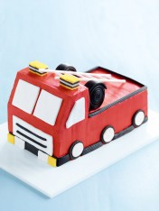 fire-engine cake