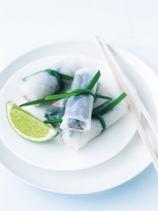 five-spice duck rolls
