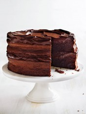 flourless chocolate fudge layer cake