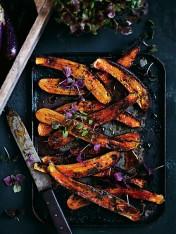 ginger and miso glazed eggplant