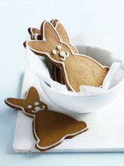 gingerbread easter bunnies