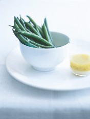green beans with french vinaigrette