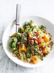 kale, pumpkin and sage quinoa pasta