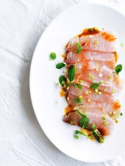kingfish with chilli-soy dressing