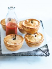 lamb, mint and rosemary pies