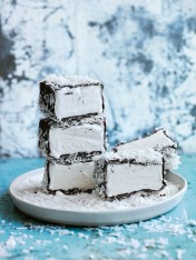 lamington ice-cream bars
