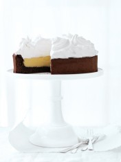 lemon meringue chocolate cake