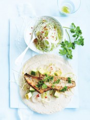 lime and tequila fish tacos