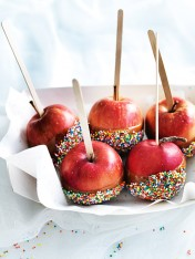 mini caramel toffee apples
