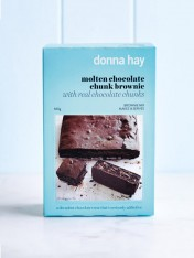 baking mix - molten choc chunk brownie