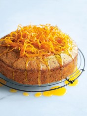 orange and poppy seed syrup cake