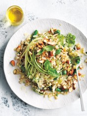 pearl barley and sauerkraut salad