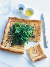potato, fennel and lemon thyme tart