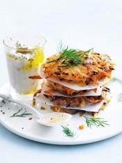 potato, onion and parmesan hash browns