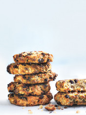 quinoa, banana and pepita cookies