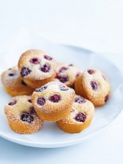 raspberry and lemon friands